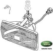 Fog Lamp Assy Front Range Rover Classic