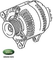 Alternator - A127 85 Amp - Rebuilt Core Charge $150.