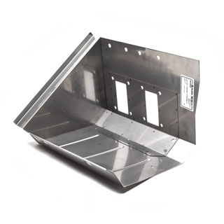Replacement Stainless Steel Footwell Assembly LH - Series II-III LHD