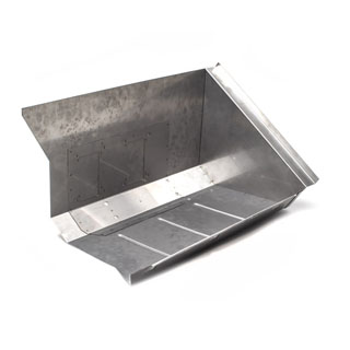 Replacement Stainless Steel Footwell Assembly  RH Series II-III LHD