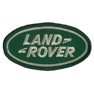 """WOVEN PATCH - """"LAND ROVER"""" 3"""" X 1 1/2"""""""