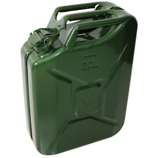 Fuel Can 20 Litre Green NATO Approved