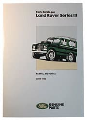 Parts Manual Series III