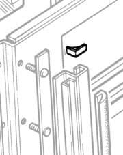 Seal Roofside Door Pillar-Roof Series & Defender