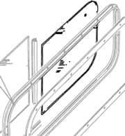 GLASS - BODY SIDE REAR DEFENDER