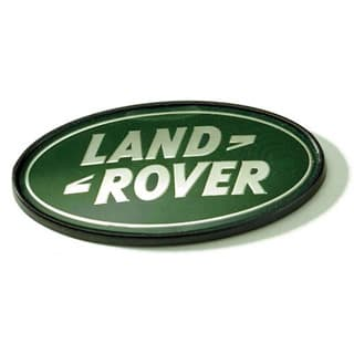 GRILLE BADGE - SILVER/GREEN DISCOVERY I, P38A