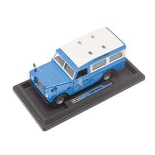 MODEL BURAGO 1:24 LAND ROVER BLUE