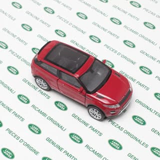 """4.75"""" Range Rover Evoque Red By Welly"""