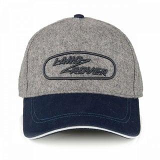 Hat Heritage Land Rover Logo - Grey Marl
