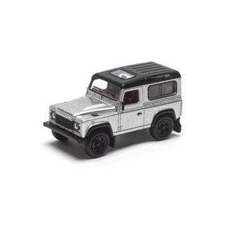 Schuco 1:64 Model Defender 90 Silver