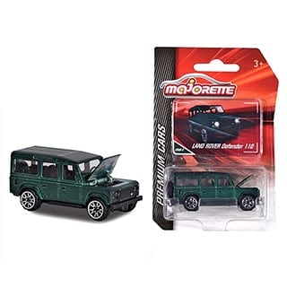 Majorette 1:64 Model Defender 110 Green