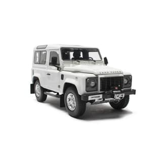 KYOSHO MODEL DEFENDER 90 SW WHITE 1:18