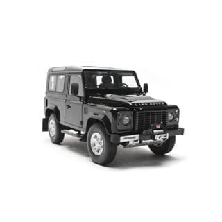 KYOSHO MODEL DEFENDER 90 SW BLACK 1:18