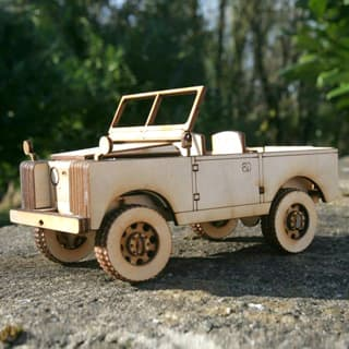 WOODEN MODEL KIT SERIES IIA TOPLESS