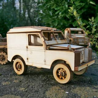 WOODEN MODEL KIT SERIES IIA HARD TOP