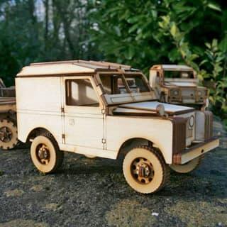 Wooden Model Kit Series IIA Hard Top