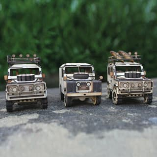 MINI WOODEN MODEL KIT SET OF 3
