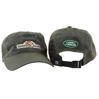 HAT ROVERS NORTH GREEN WAXED COTTON