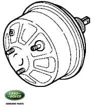 Brake Servo - Vacuum Assist Discovery II Left Hand Drive