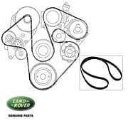 Genuine Serpentine Belt-With Ace and A/C