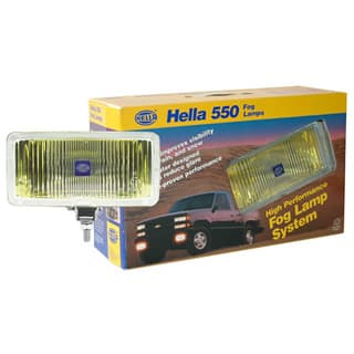 HELLA LAMPS SERIES 550 AMBER FOG KIT