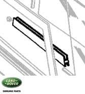 Slide RHF Door Top Glass Inner Defender