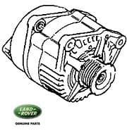 Alternator - P38a R/Rover - New 150 Amp