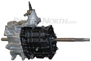 REMANUFACTURED 5 SPEED R380 MAIN GEARBOX FOR V8 DEFENDER w/o BELL HOUSING