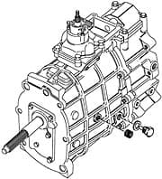 RECOND. GEARBOX  R380 V-8 DISCOVERY I