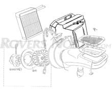 HEATER ASSEMBLY LHD DEFENDER PRE 2007