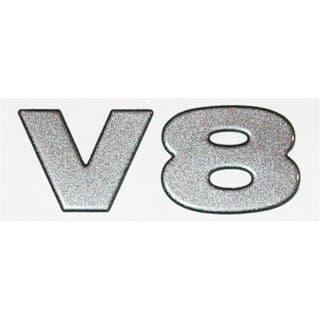 """Decal """"V8"""" Front Wing Defender NAS"""