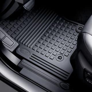 Rubber Mat Set Front & Middle  LR3 Black 2005-2007