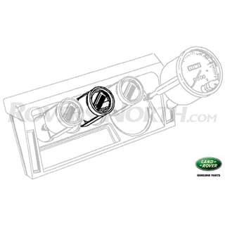 Tachometer  4.0L V-8 EFI  Defender 90/110