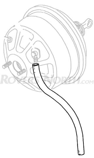"""Vacuum Hose  Servo Unit   Series IIA & III 19"""""""