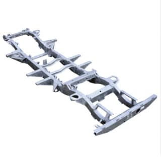 CHASSIS 127  ALL EARLY 4 CYL MODELS 2.5 - 200Tdi   GALVANIZED