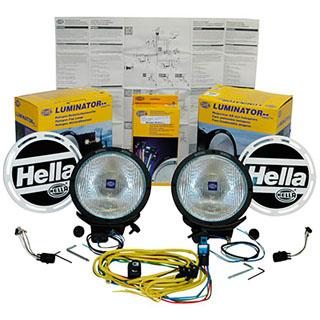 Hella 4000 Driving Lamp Kit 100 Watts