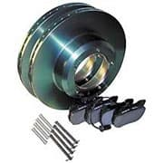 Pads & Rotors Front Set By Land Rover For Range Rover Classic
