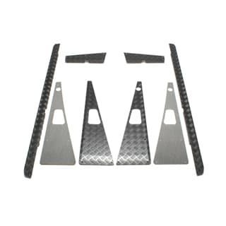 CHEQUER PLATE COMPLETE KIT- D110 BLACK PUMA