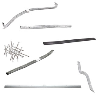 DOOR SEAL KIT REAR DOOR SERIES II-III