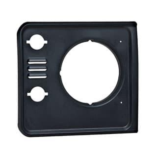 Bezel Finisher RH Headlamp Defender w/Vents Black