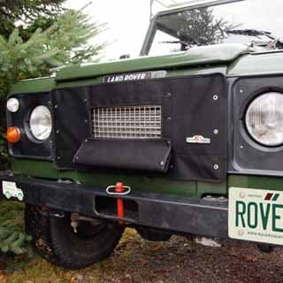 Radiator Muff By Rovers North For Defender