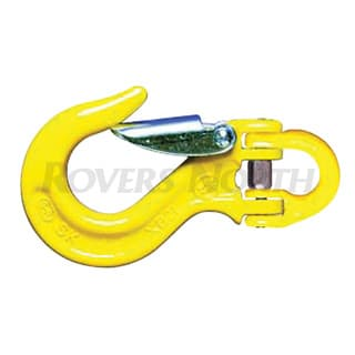 Alloy Sling Hook w/Latch 3/8""