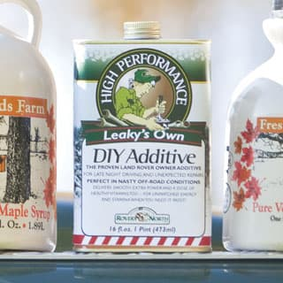 LEAKY'S OWN DIY ADDITIVE 16oz CAN 100%  VT MAPLE SYRUP