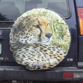 Tire Cover Cheetah Full Color Large