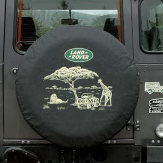 Tire Cover - Safari With L/R Logo - Standard