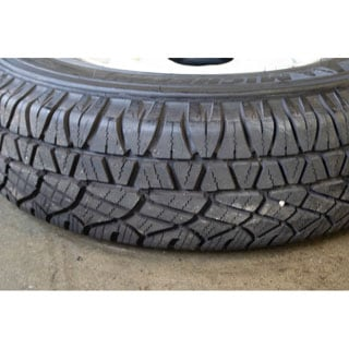 Michelin Latitude 7.50 X 16 Radial Tire New Take Off