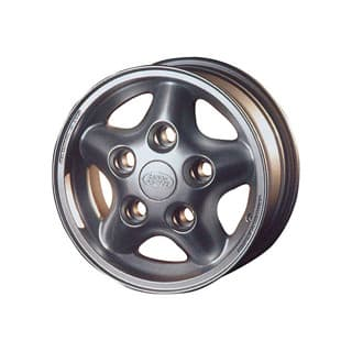"TORNADO ALLOY WHEEL IN SILVER 16"" X 7"""