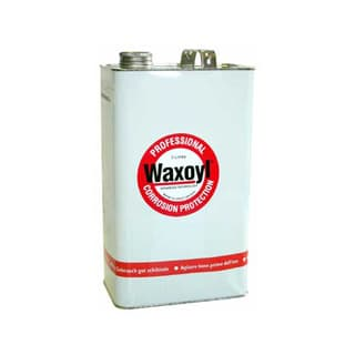 Waxoyl Black Hardwax Underbody 5 Litre (1.32 Gal) Tin