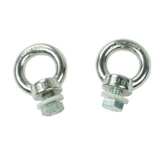 FRONT RUNNER STAINLESS STEEL TIE DOWN RINGS - PAIR