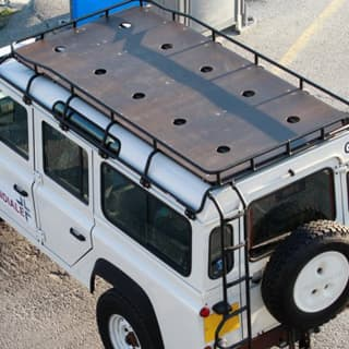 MARINE PLY FLOOR EXPLORER ROOF RACK D110